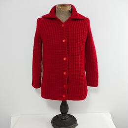 ~1980s  Low guage   wool knit sweater.