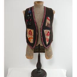 Vintage Tribal vest