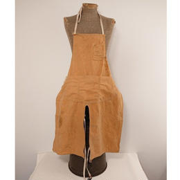 ~1960s  Brown duck  apron.