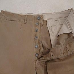 【1940s  U.S. ARMY  41-KHAKI】 Chino trousers