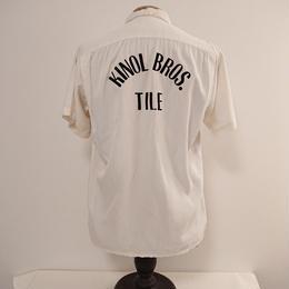 【~1960s  AIR FLO】Bowling  shirt