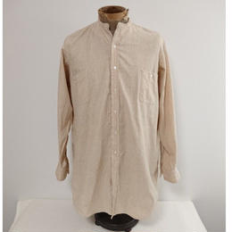 1910s~1920s  American beige dress shirt