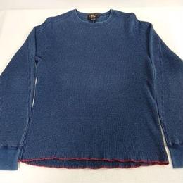 【RRL】Indigo dyeing  Thermal cut-sew