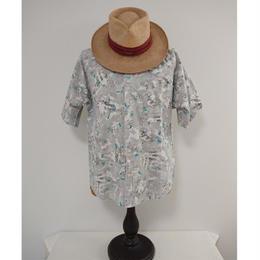 【 1980s~ FRANK 】 Cotton  shirt