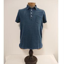 【RRL】Indigo dyeing polo shirts