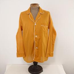 【 ~1970s Arrow 】Ocher color  Pajamas shirt