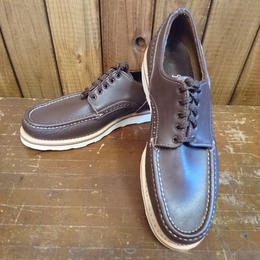 RUSSELL  MOCCASIN × VINTAGEAIR別注  COUNTRY OXFORD (CHOCOLATE)