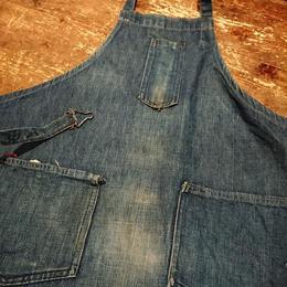 【1930s~  BILT WELL】Denim   apron