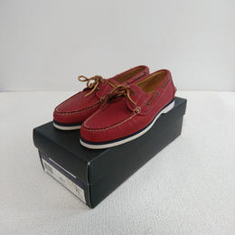 「POLO   RALPH  LAUREN」    Deck shoes 【Red】