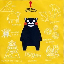 くまモンのメガネ拭き 熊本名物バージョン