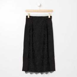 チュールレーススカート(ブラック)