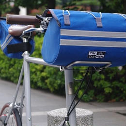 TIM TAS + REK / Racing front bag BLUE