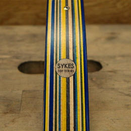Sykes Wood Fenders / Bobtail  Blue Yellow