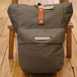 BROOKS / SUFFOLK REAR PANNIER GREEN FLECK