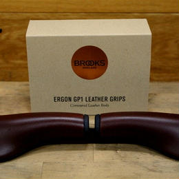 BROOKS / Ergon GP1 Leather Grips HONEY