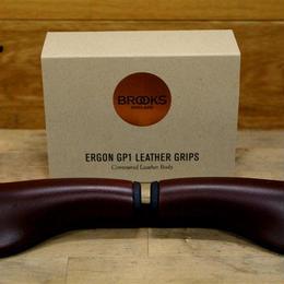 BROOKS / Ergon GP1 Leather Grips HONEY