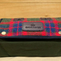 CARRADICE & HARRIS TWEED / Limited Editions Zip Roll / Car Rug