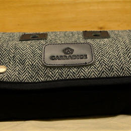 CARRADICE & HARRIS TWEED / Limited Editions Zip Roll / Mono herringbone