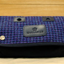 CARRADICE & HARRIS TWEED / Limited Editions Zip Roll / Twilight