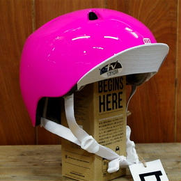 bern/NINA ALL SEASON  GLOSS PINK VISOR