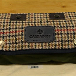 CARRADICE & HARRIS TWEED / Limited Editions Zip Roll / Flat Cap