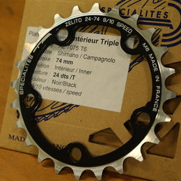 TA Zelito/ TRIPLE CHAINRING 24T PCD74mm