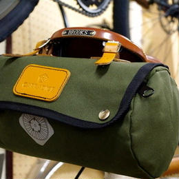 CARDDICE / ZIPROLL SADDLEBAG