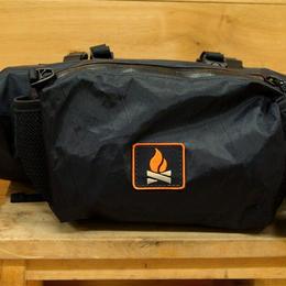 """WANDERLUST / Sawtooth Hnadlebar Bag """"BLACK"""""""