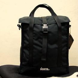 North St. Bags グロッサリー・パニア / BLACK