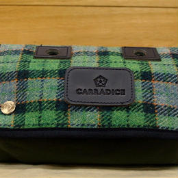 CARRADICE & HARRIS TWEED / Limited Editions Zip Roll / Meadow