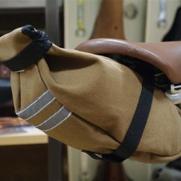 TIM TAS + REK / small saddle bag Brown