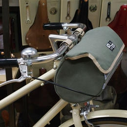 TIM TAS + REK / Handlebar bag seagreen