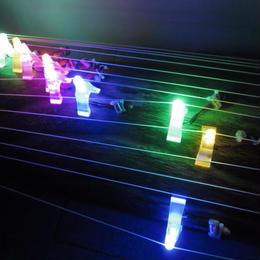 【限定発売】クリスタル光る琴柱クリスマスイベント用(独立電池パック)