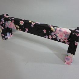 夜桜の箏台