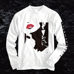 Rakia Long Sleeve Tee  -White-