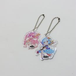 [kr0001]小松屋オリジナルキャラクター リプル・まりん キーフォルダー