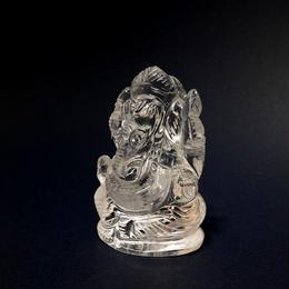 幸運の神ガネーシャ神像