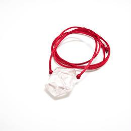 ガネーシュヒマール産ヒマラヤ水晶 ネックレス(レインボー)