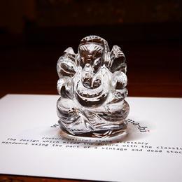 幸運の神ガネーシャ神像  GQ1