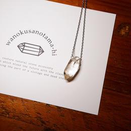 ガネーシュヒマール産ヒマラヤ水晶 ネックレス シルバー SB