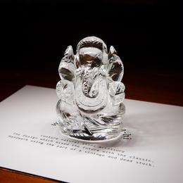 幸運の神ガネーシャ神像  GQ6