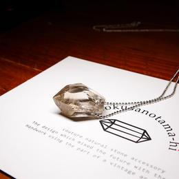 ガネーシュヒマール産ヒマラヤ水晶 ネックレス シルバー SG