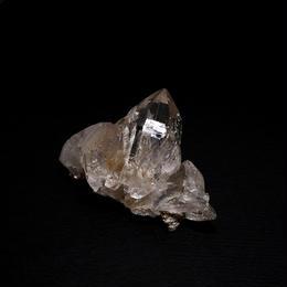 ネパール、ガネーシュヒマール産ヒマラヤ水晶クラスター(ライトスモーキー)