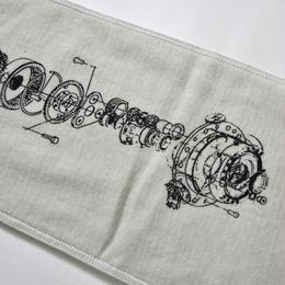 ENDLESSNOT -  rortate towel