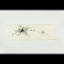 創作デザイン落水和紙(墨)(商品番号:as-1511036)