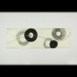 創作デザイン落水和紙(墨)(商品番号:as-1511035)