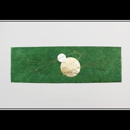 創作デザイン和紙(丸箔)(商品番号:as-161101)