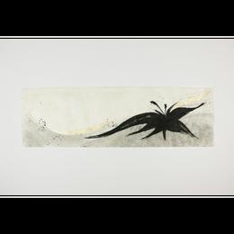 創作デザイン和紙(墨)(商品番号:as-1511023)