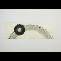 創作デザイン和紙(墨)(商品番号:as-160605)