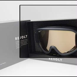 2018-2019 NEWMODEL REVOLT (リボルト スノーボード&スキー ゴーグル)